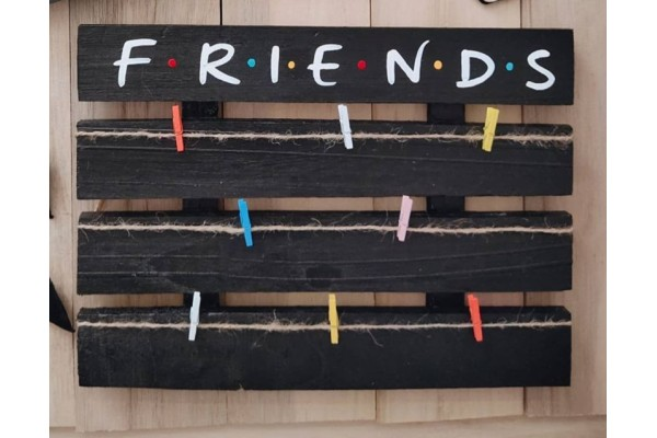 Customized Friends Wooden hanging