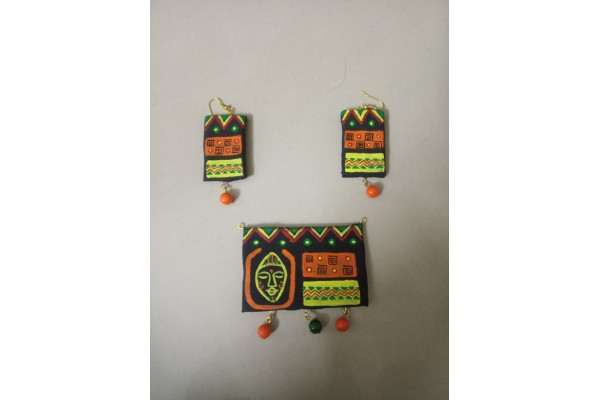 African Tribal Traditional Pendant set