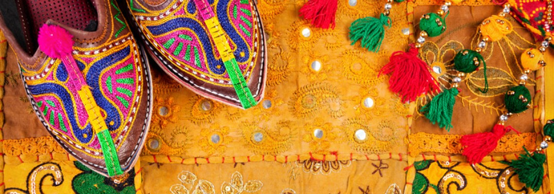 Feel The Magic Of Rajasthani Leather Embroidery